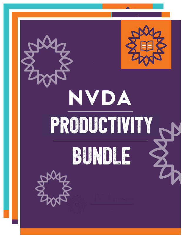 Cover image for NVDA Productivity Bundle