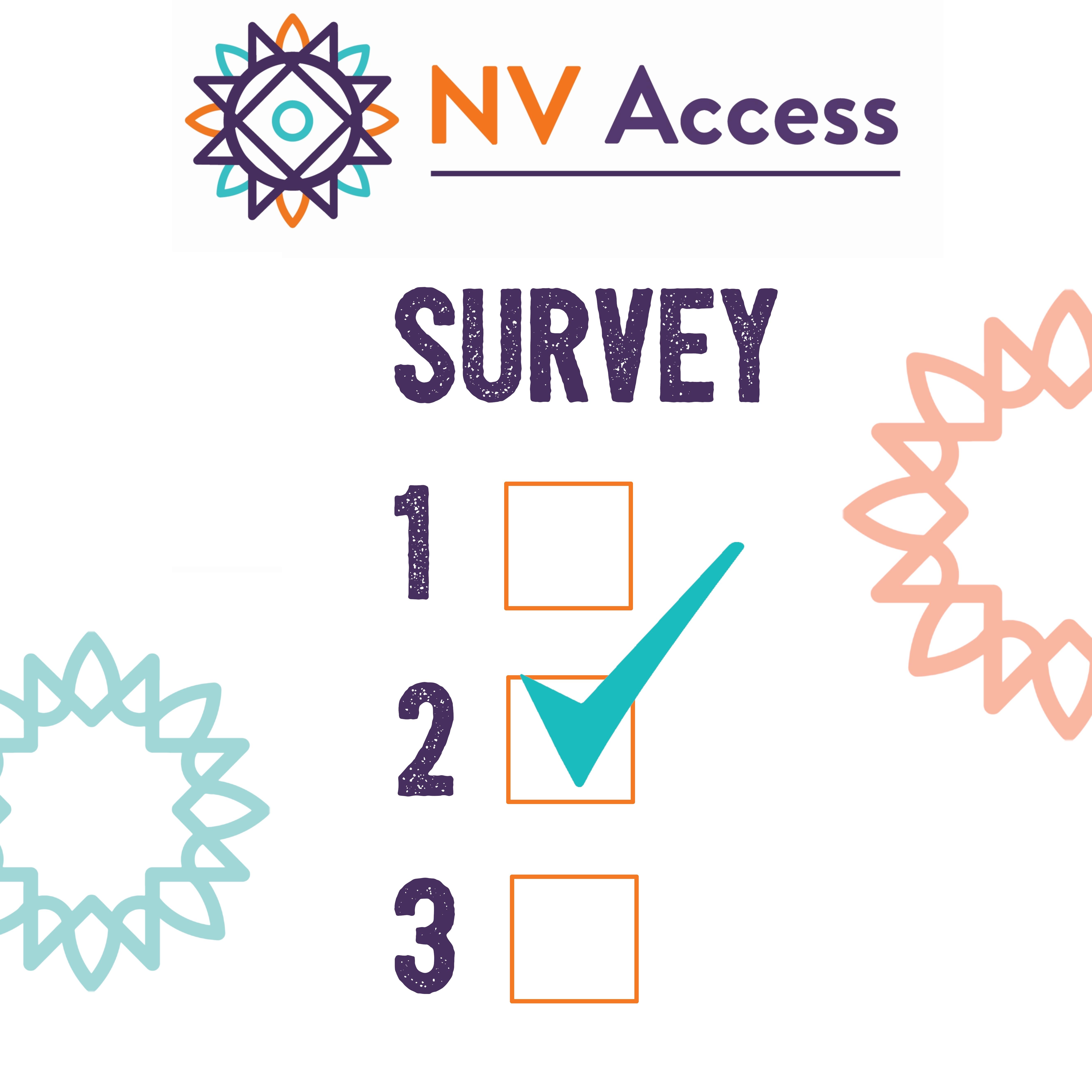NV Access Survey mockup image